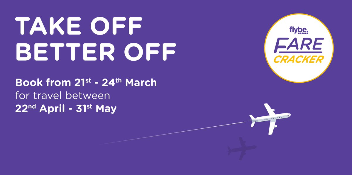 Farecracker is back in time for Easter & for the next 4 days, we're offering our best fares