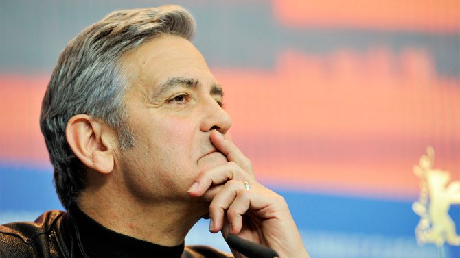 George Clooney warns of @realDonaldTrump-like rhetoric in pitch for @HillaryClinton event