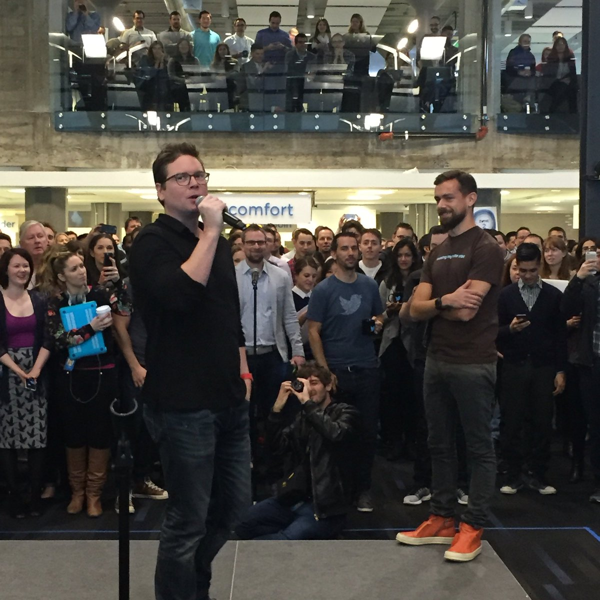 .@biz is so right. Twitter is not just a triumph of technology, it's a triumph of humanity. -#LoveTwitter https://t.co/A0w9T4F01T
