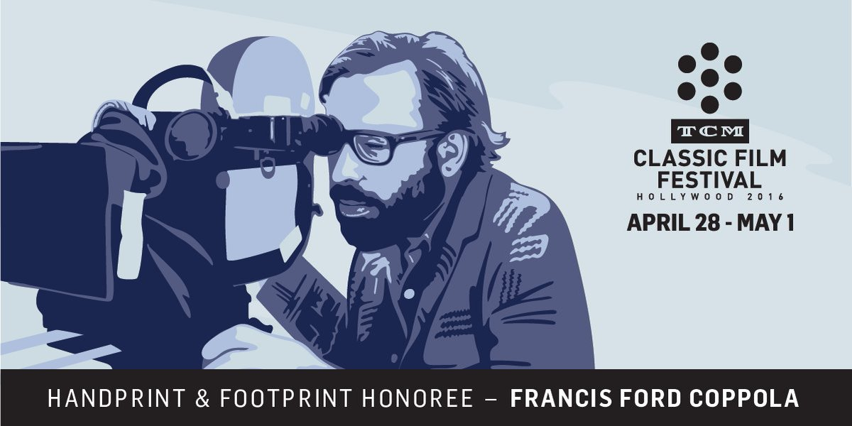 An offer he couldn't refuse. Francis Ford Coppola to be hand & footprint honoree at #TCMFF https://t.co/eMNQWkAdRj https://t.co/IFf96Hhl3q