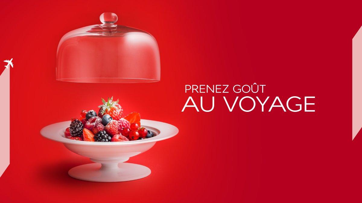 AirFrance, partenaire de GoutdeFrance2016 / GoodFrance célèbre la gastronomie française.