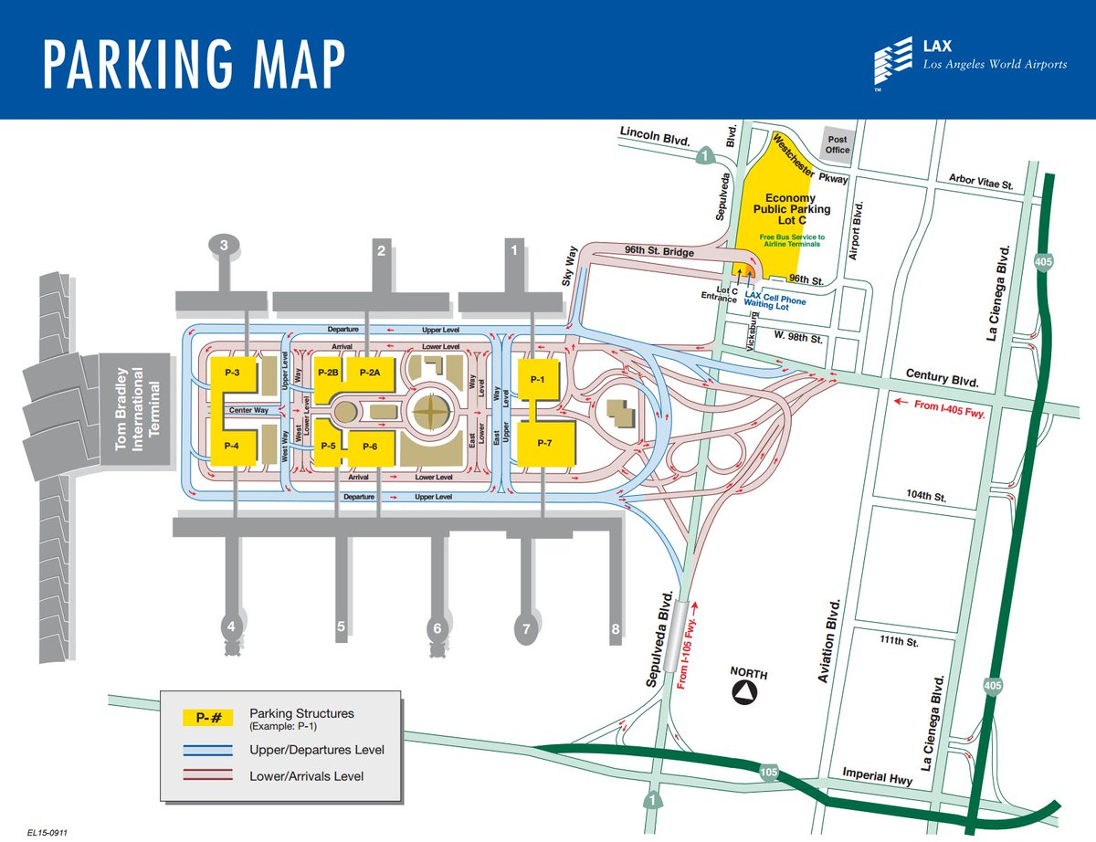 [PIC] Nearly 8K parking spots are available @ 8 parking structures in the CTA. Info: