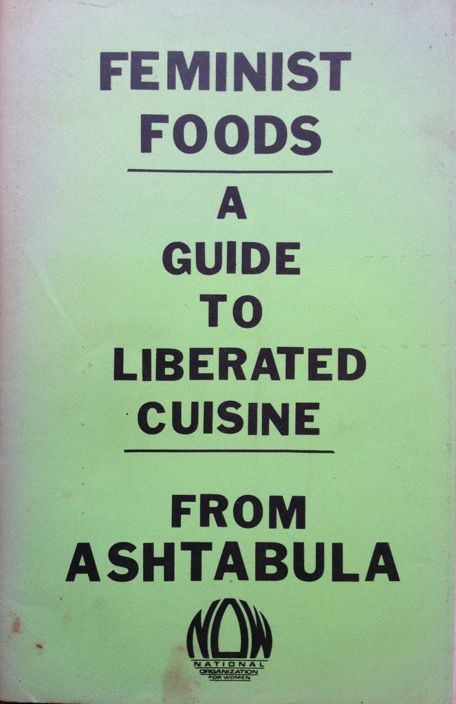 An awesome feminist cookbook from 1982! https://t.co/9RHNMWRhw2
