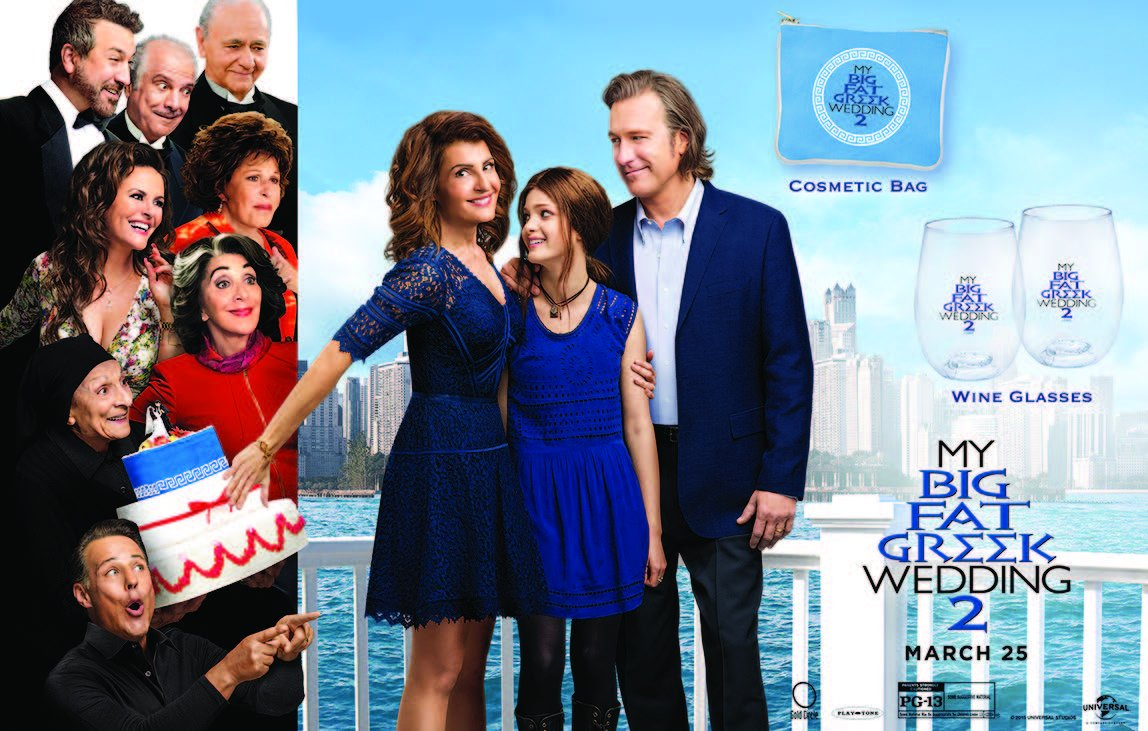 Follow us & #RT for a chance to win #MyBigFatGreekWedding2 prize! Tix:https://t.co/XID2CCvrYX Winners selected 3/24! https://t.co/F23Ms9PZzD