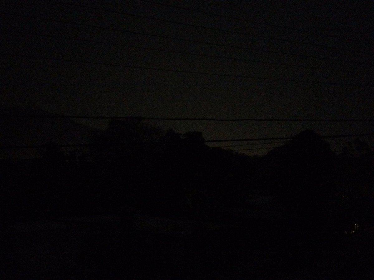 Obscuridad total en San Juan de los Morros #SinLuz https://t.co/B3PfTR2Yzd
