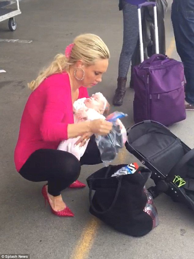 Coco Austin And Ice T Bring Their Adorable Baby Chanel To