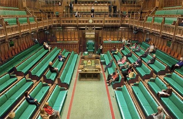 Men Photoshopped Out of Political Shots to Prove Problem -https://t.co/vEcIl3l4Gm  - British Parliament https://t.co/i0SSZFmeWZ