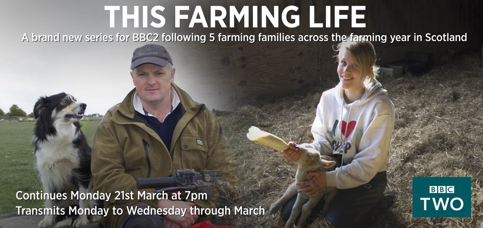 Incredible farmers! Incredible people! @BBCTwo 7pm tonight and tomorrow. #thisfarminglife @mel_irvine @FearnFarm https://t.co/tX5eOFOEbt