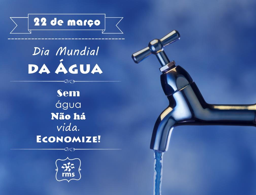 Hoje é Dia Mundial da Água e você já parou refletiu sobre a sua importância?