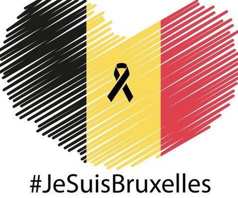 Stop terrorism... #JeSuisBruxelles https://t.co/iKOY1wMP04