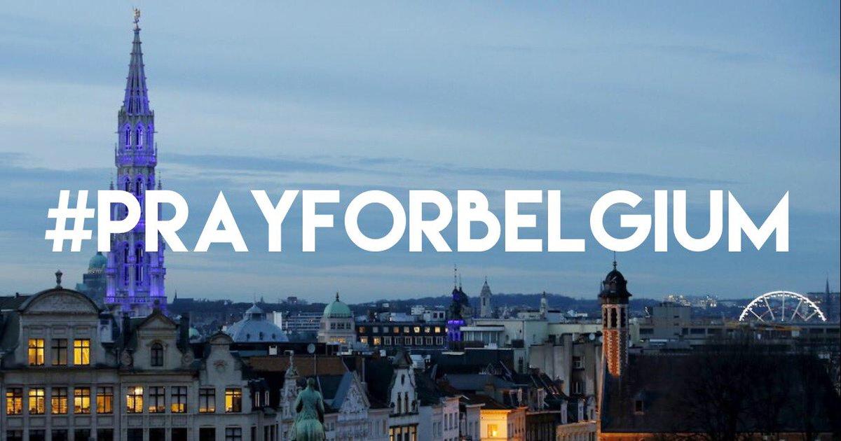 And, pray for peace. #PrayForBelgium https://t.co/ybf8y3TWXf