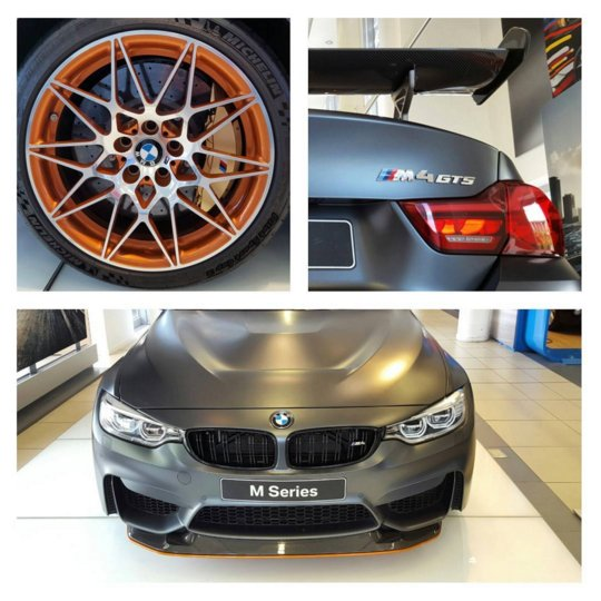 This is what R2.1 million gets you - a BMW M4 GTS. What an insane machine