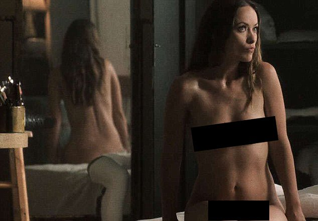 Olivia wilde goes completely nude for racy new tv show