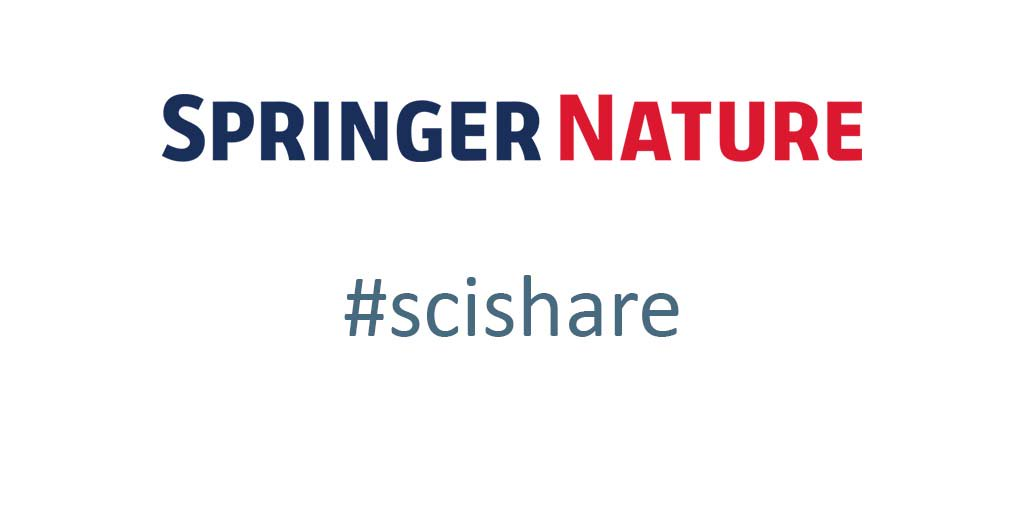 Springer Nature to extend content sharing to whole journal portfolio after #scishare trial https://t.co/Rg0A3I0FFE https://t.co/9IpK7C6Iw9