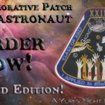 We've created an awesome $5 patch to honor 18,300 people who applied to #BeAnAstronaut! https://t.co/1t2gItyXw3 https://t.co/uJYlLX0oNa