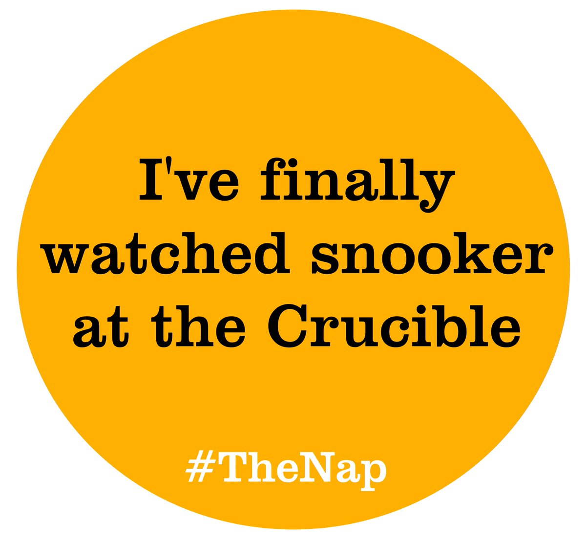 Been to see #TheNap? Retweet this if it's the first time you've watched live snooker! https://t.co/XbfNKCL9R1