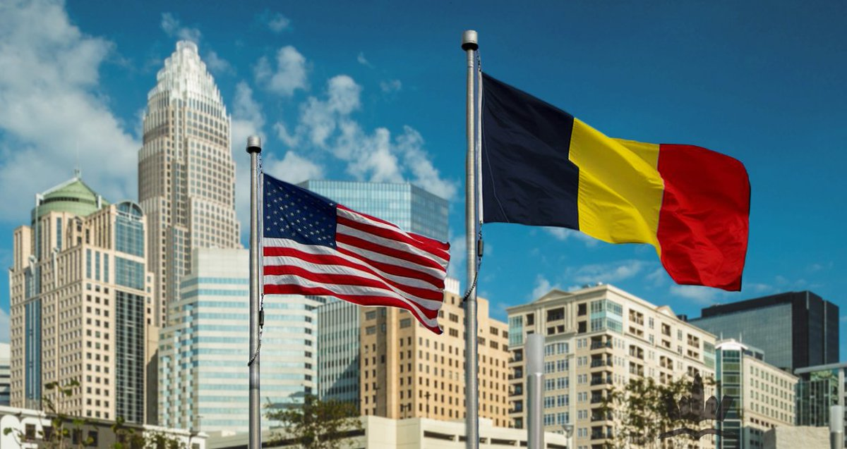 Charlotte stands with Brussels #PrayForBrussels #BrusselsAttack https://t.co/6ytwa0eJLU