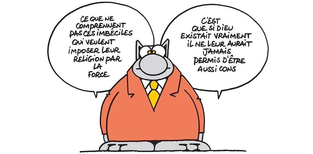 "Philippe Geluck : ""L'art est une 'arme' de distinction par rapport à la barbarie"" https://t.co/mlKZBVWZno https://t.co/bMPfsZv5Xz"