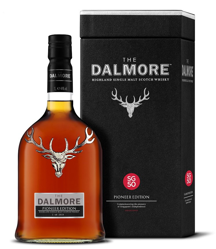 The Dalmore Pioneer Edition, created to celebrate 50 years of Independence in Singapore https://t.co/Lf6Ixf9UHt