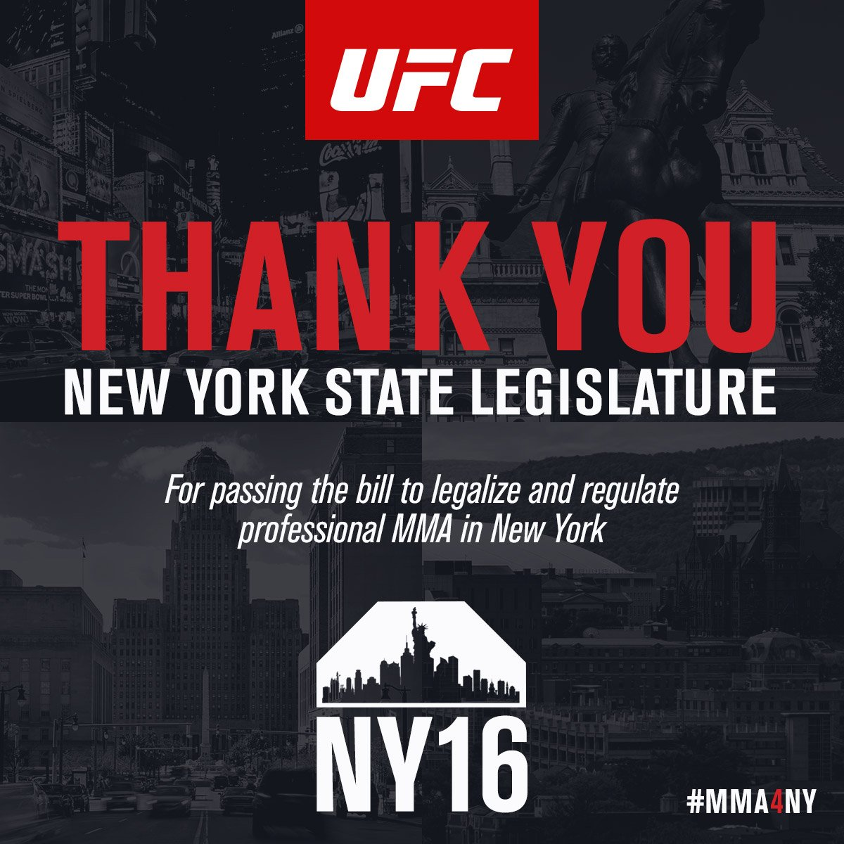 Great #REsult #mma4ny #ufc https://t.co/vNEv5mbWSf