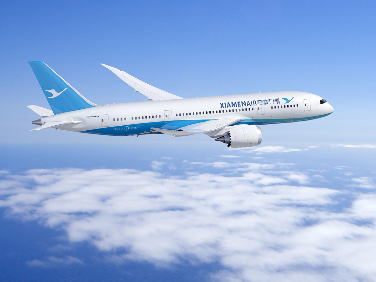 Xiamen Airlines announces flights to YVR. Only North American city w/ Xiamen service: