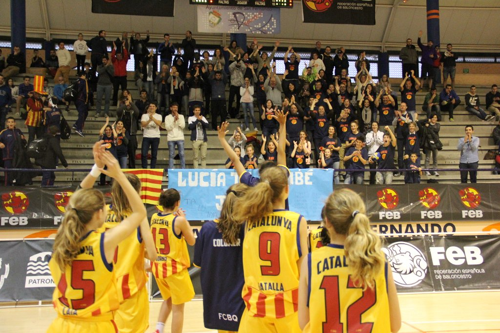 #CatalunyaBQ a les FINALS del #Mini2016. Enhorabona a tot el #BàsquetCatalà!  https://t.co/ZgiODE6AHx @FCBQtecnic https://t.co/O2CYYPnpjM