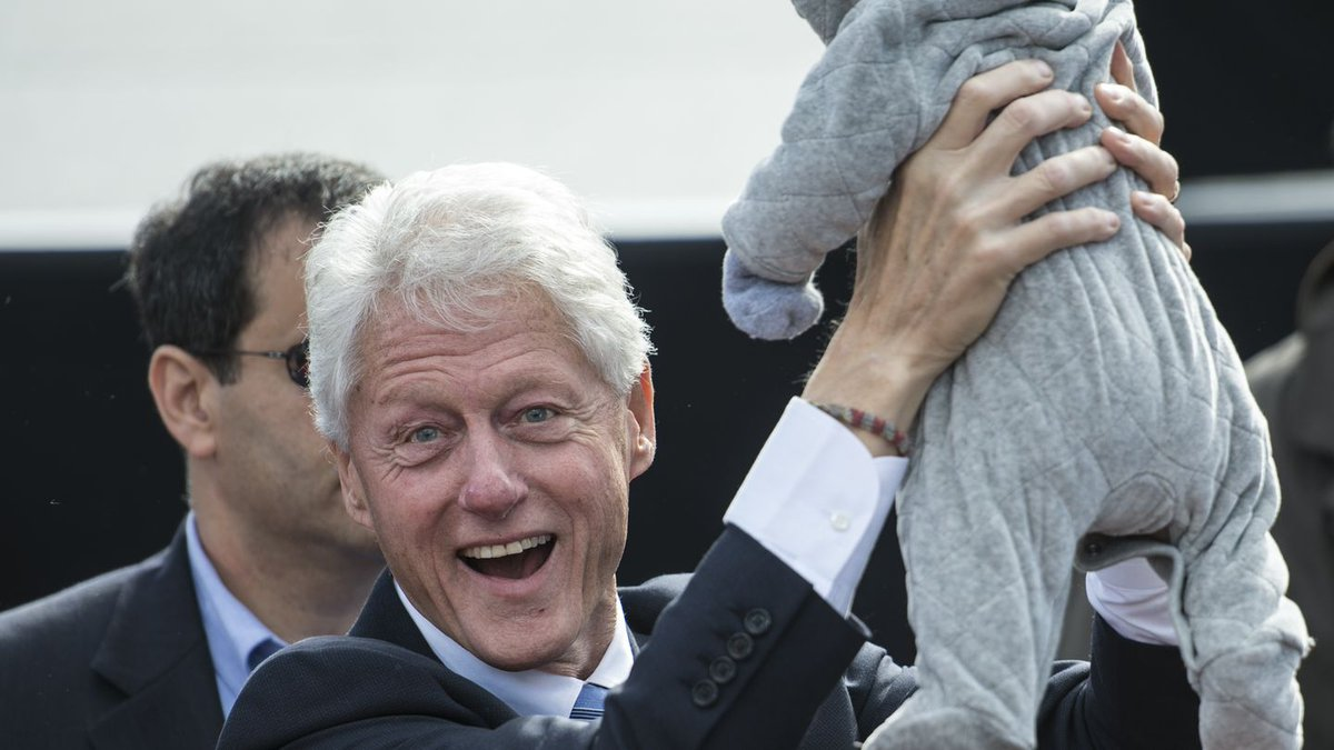.@theshrillest and his toddler talk Bill Clinton's effect on Hillary's campaign: