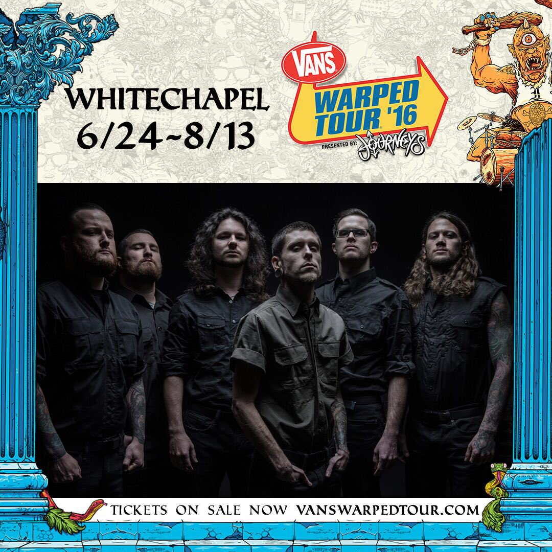 We are looking forward to contributing to the heavier side of bands at this years @VansWarpedTour, see you there https://t.co/bsdVlin96A