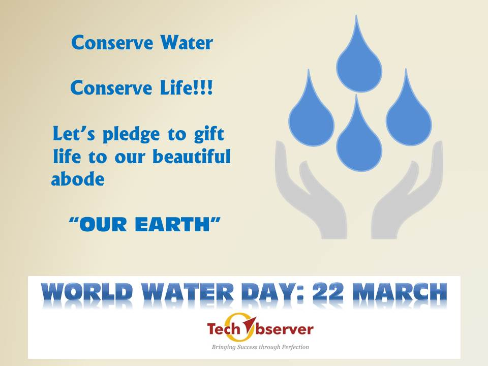 test Twitter Media - Although #earth is 71% water fresh water is still a limited resource. @observer_tech honors #worldwaterday today. https://t.co/vfKaxIZqi4