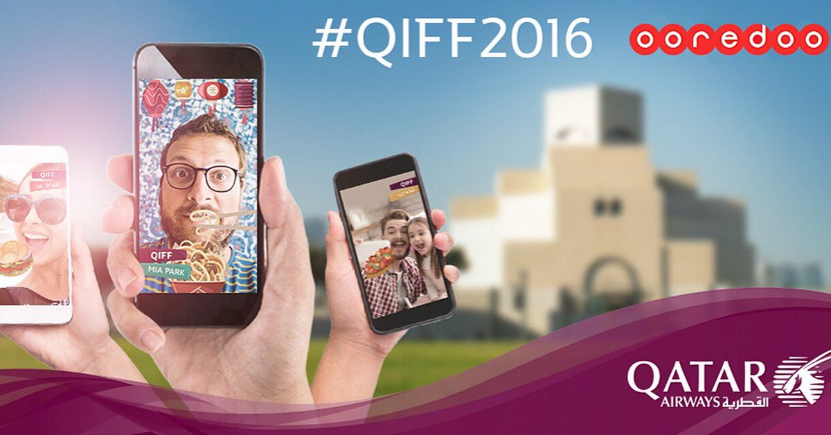 Snap and share your QIFF2016 story for your chance to win! Find out more at