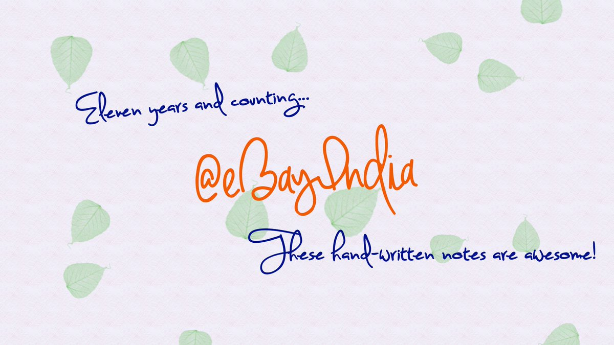 Let's celebrate Ebay's 11th Anniversary with style @ebayindia   #BackToBasics  #IndiaKaPassion https://t.co/Y9Mj9TWpbS