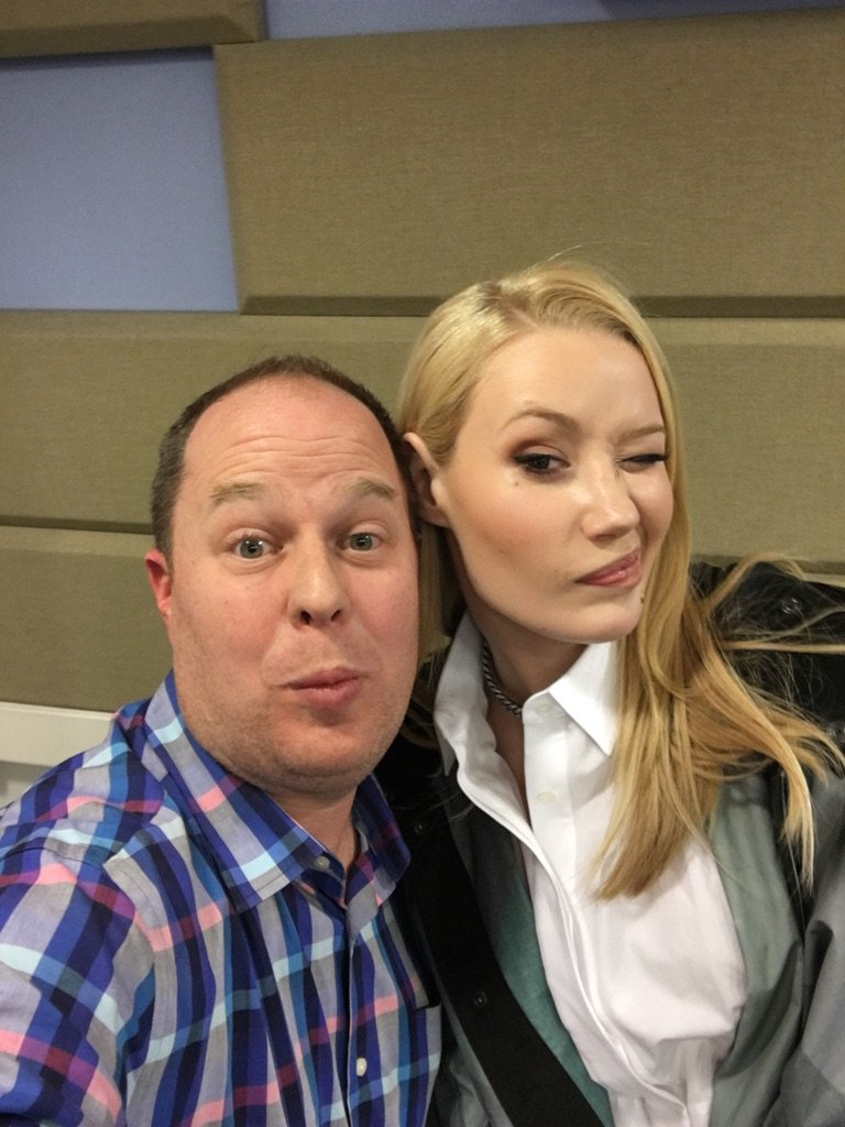 I love this woman! Thank You @IGGYAZALEA for the amazing interview with @1035KTU https://t.co/q5L3ub2bfi