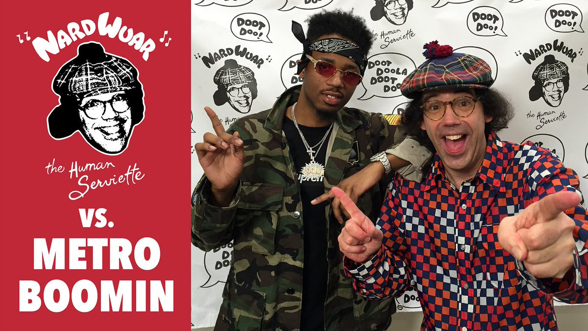 Here's a new interview i did @sxsw with Metro Boomin ! https://t.co/LvtXbBj69c Doot doo ! https://t.co/Bicdw14JJ2
