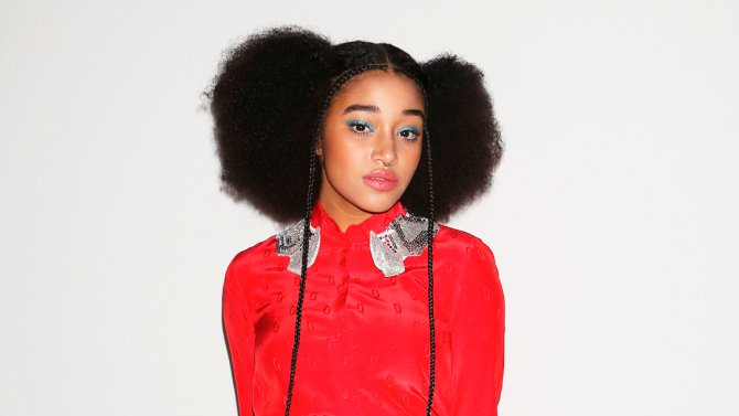 """Hunger Games"" actress Amandla Stenberg to star in ""The Hate U Give"""