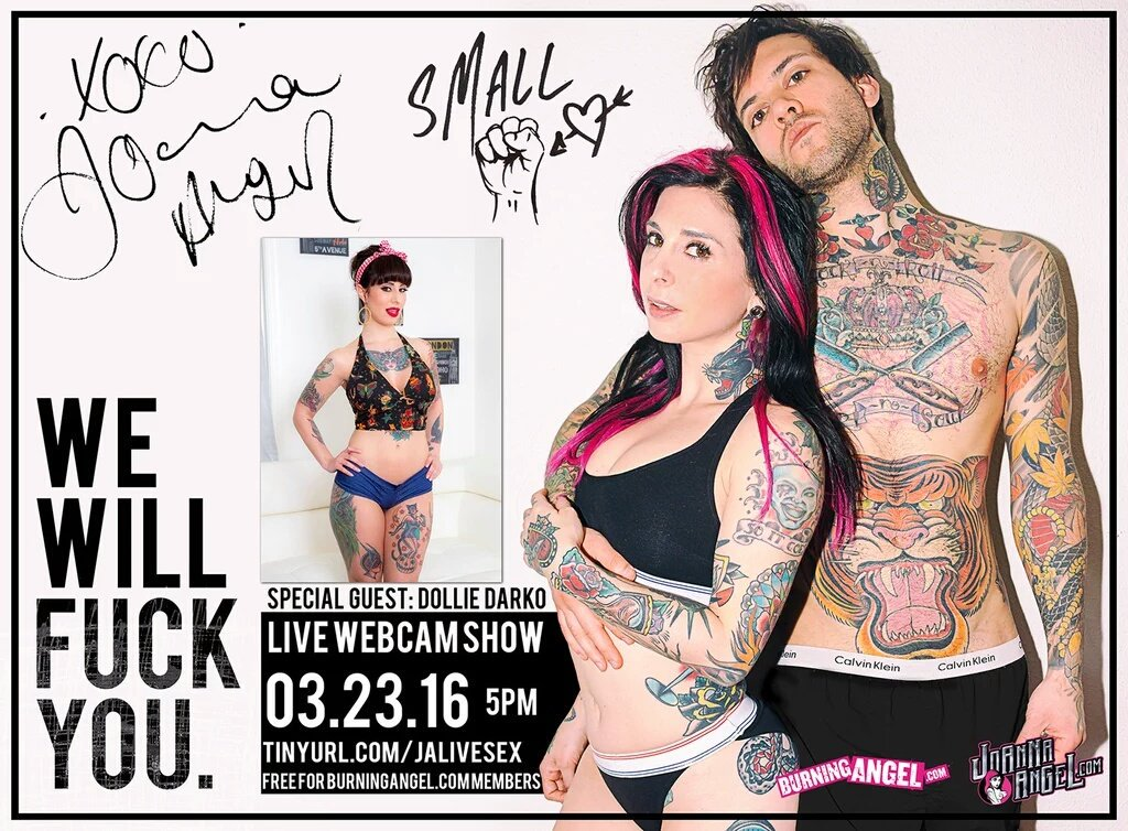 Shits gonna #getweird this evening! #tunein for some hot tattooed #livesex ! 5pm pst! ♡♡♡ #BURNINGANGEL