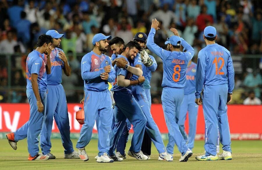 Don't give up till the end Don't celebrate before you win! #IndvsBan Wat a game