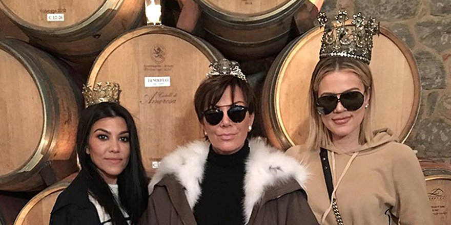 Kris Jenner gets tipsy with Kourtney and Khloé during wine tasting tour via @greatideas