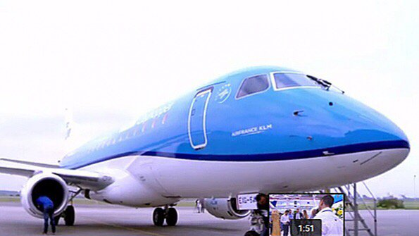 KLM Cityhopper takes delivery of first Embraer