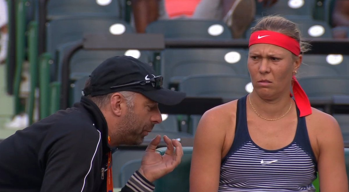 Whatever coach Jiri Fencl is saying, Hradecka is not buying it. https://t.co/ETSDkMl3gH