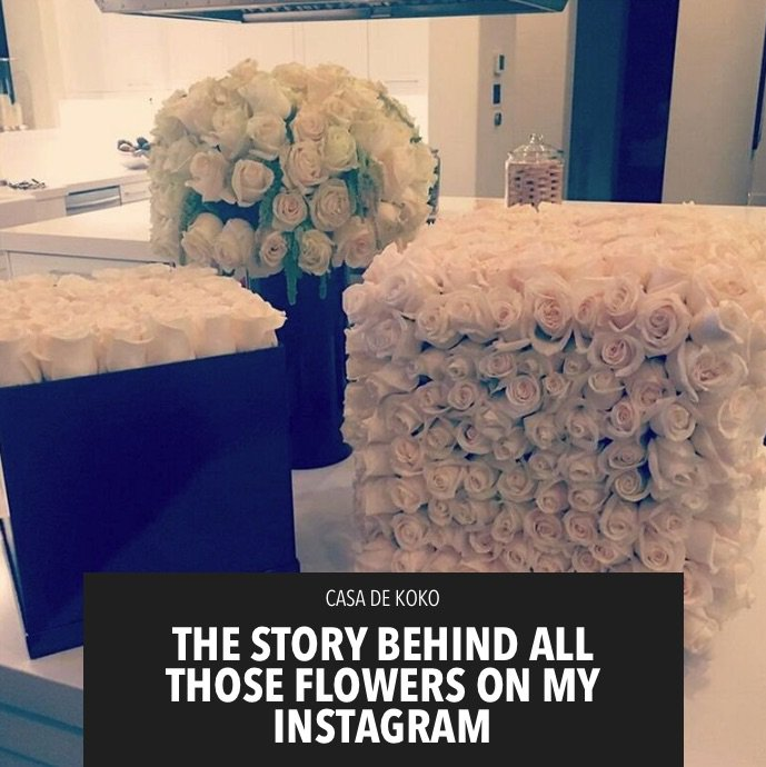 The story behind who sent me all those bouquets I post on Instagram is on khloewithak! https://t.co/59IAOJan0A https://t.co/kAM8LA0Qj8
