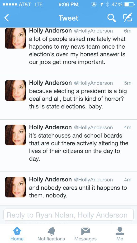 Preach @HollyAnderson https://t.co/1hxG7ERRwF