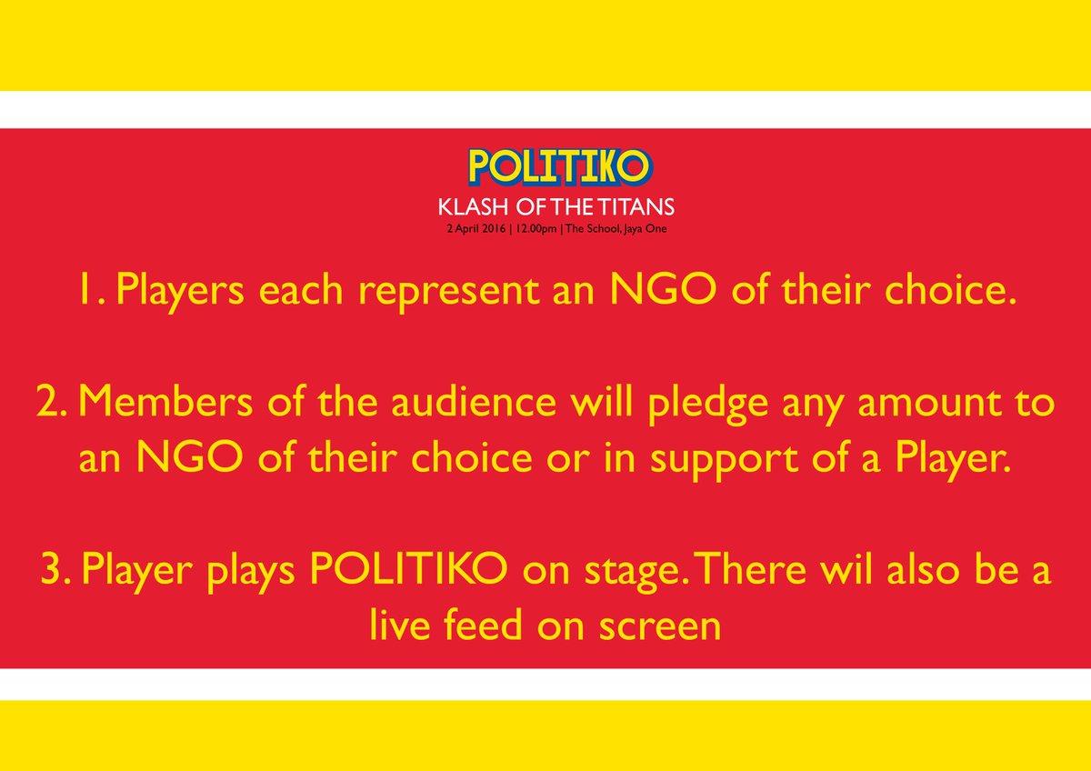 #POLITIKO #KOTT How does it work? Why is it fun? @edmundbon @n_izzah @imokman @chinhuatw @S_Y_New https://t.co/vWRn1uOt13