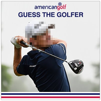 #Retweet & reply with your #GuessTheGolfer answer for a chance to win a £50 AG voucher! https://t.co/ko7uH87cYp #Win https://t.co/kcpErNTLCb