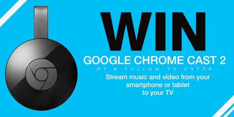 To celebrate #easterweekend we're doing a #Fridayfreebie Retweet & Follow for a chance to #win a Chromecast 2015 https://t.co/xjZu096hR1