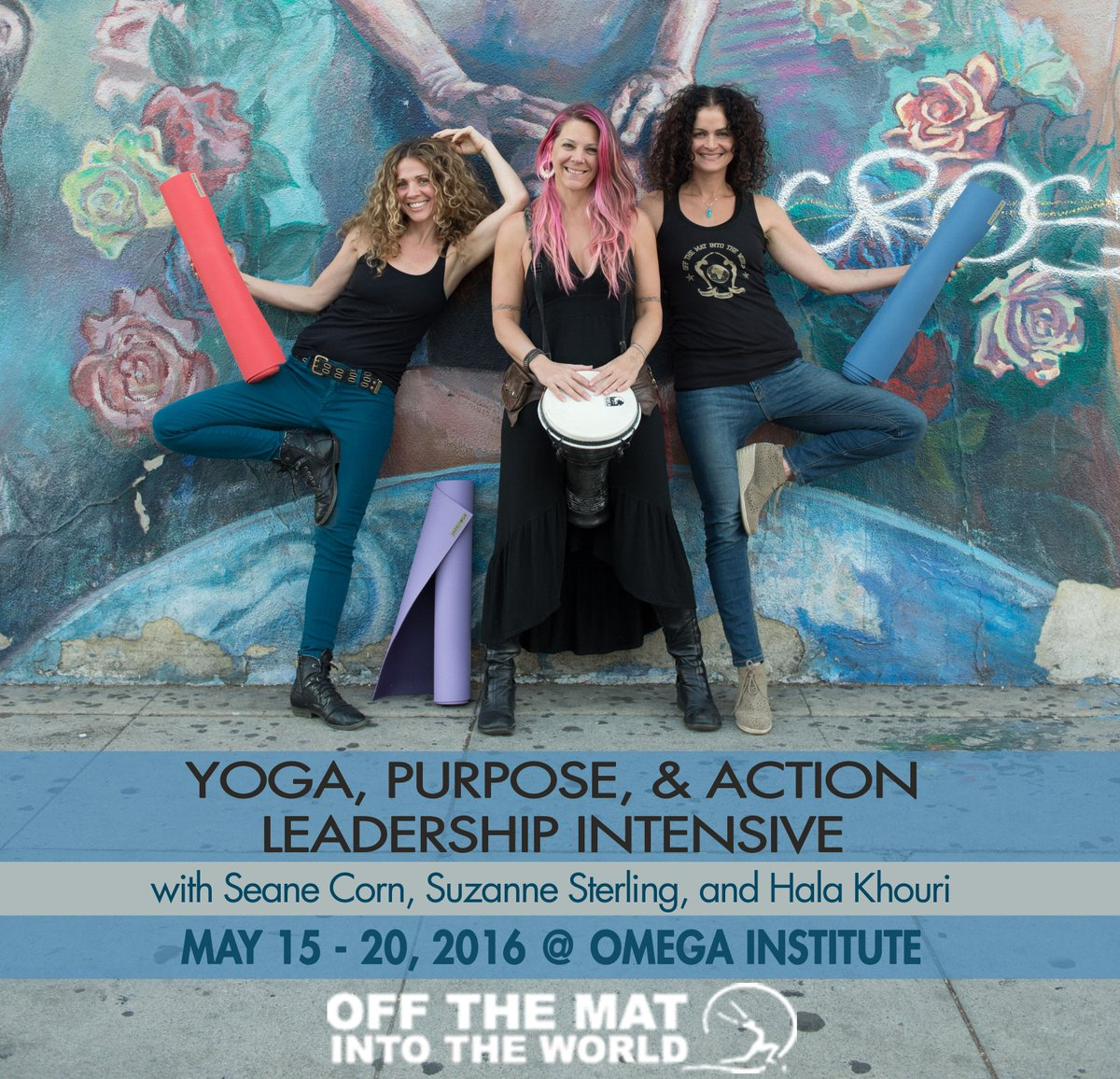 We're coming to @omega_institute! Are you? May 15-20 https://t.co/OrzMcb3GCj  #yoga #purpose #action https://t.co/dyBzFCmIMB