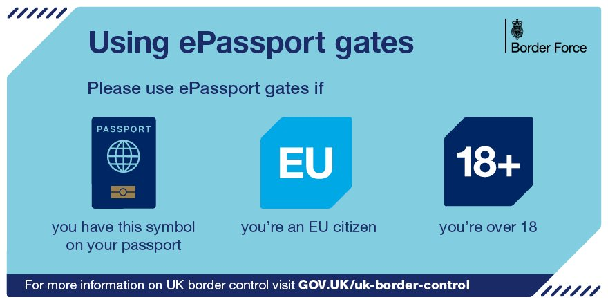 Holiday soon? Use epassport gates when you come back.