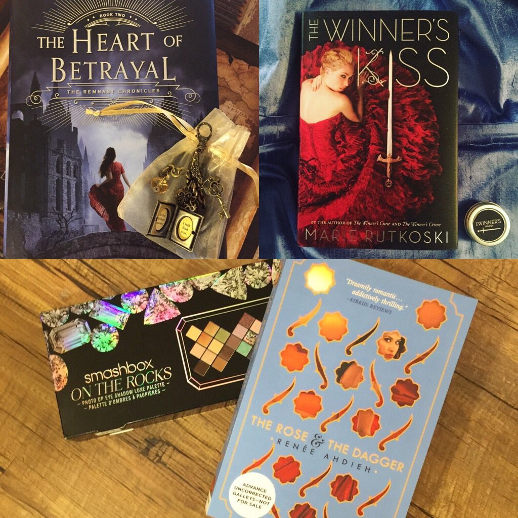 ONE DAY LEFT! RT for chance to win signed books and swag from me, @marierutkoski and @rahdieh! Ends 3/25 https://t.co/2rpvJxCptm