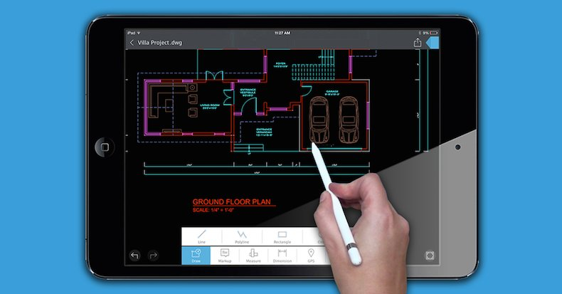 Find out why Apple put AutoCAD 360 on the iPad Pro product page. Work with DWGs on the go! https://t.co/udBv9mtXq7 https://t.co/sEez81QAlk