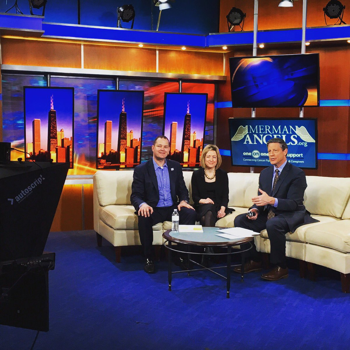 Thanks @fox32news for hosting Ben and Megan today! We've already gotten several calls from your viewers! #ThankYou https://t.co/so7c9wCBGf