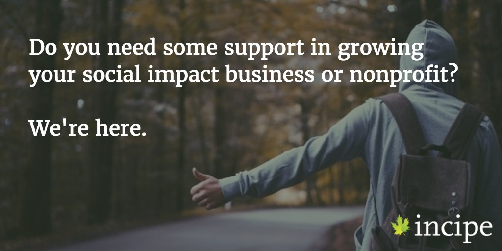 If your #nonprofit or #socent needs some support, we're here. Get a free consultation: https://t.co/CdpO9ERYg4 https://t.co/j0D7x0BRTq